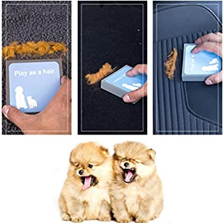 Pet Hair Cleaning Sponge,AmaMary ❤️❤️❤️ Pet Dog Cat Cleaning Foam Brush Carpet Clothes Hair Fur Remover Cleaner Brushes