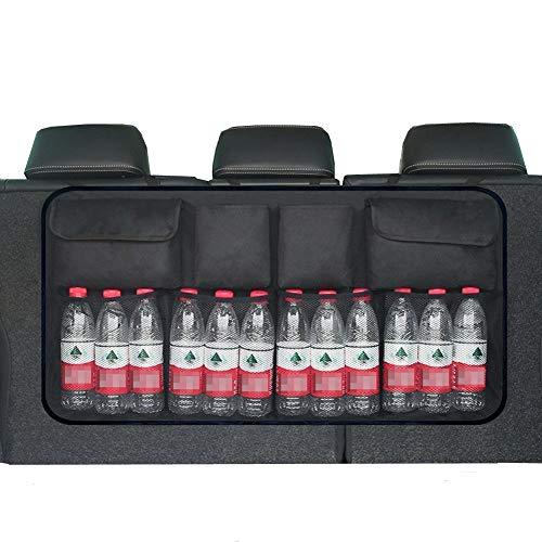 HCMAX Auto Rücksitz Kofferraum Veranstalter Kinder Spielzeug Hängenden Beutel Lange Aufbewahrungstasche Autoinnenraum-Fracht-Zusätze für SUV Vans Autos Trucks