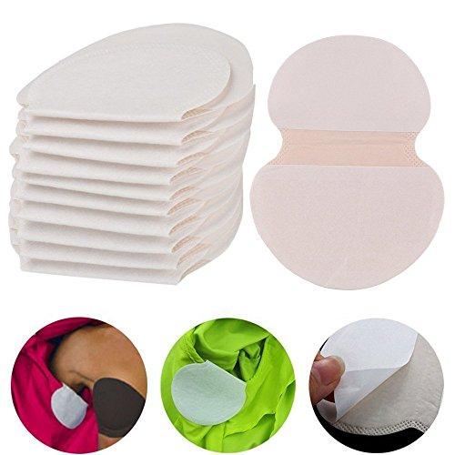 Desechables almohadillas axilas sudor antitranspirantes parches antisudor sudor desodorizante manchas de color puro absorbente suave