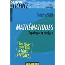 Mathématiques 3e Année : Topologie et analyse