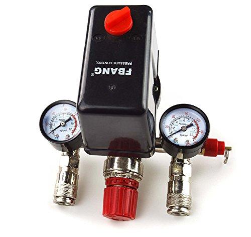 380 / 400V Druckregler mit Druckschalter Kompressor Kompressorschalter