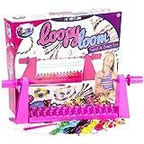 Jacks – Loopy Loom – Bracelet & Tresse – Métier à Tisser 2-en-1 + 600 élastiques + 40 Perles