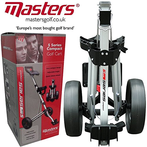 """NEW 2015"" MASTERS 5 SERIES STOW A CART LIGHTWEIGHT / COMPACT GOLF TROLLEY"