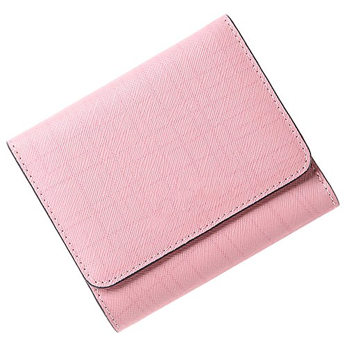 Wallet LCCWomen'S Short Korean Version Of The Three-Fold Leather Purse Thin Section Tide Female Bag 2018 New
