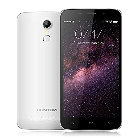 Homtom HT17 5.5 Zoll Fingerabdruck 4G Smartphone Android 6,0 Quad Core MTK6737 1,1GHz  5.0MP+13.0MP dual Kamera 1GB RAM 10GB ROM Dual SIM Handy Touch