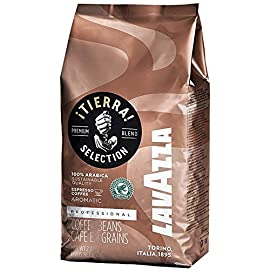 Lavazza Tierra Intenso Coffee Beans (2 Packs of 1Kg)