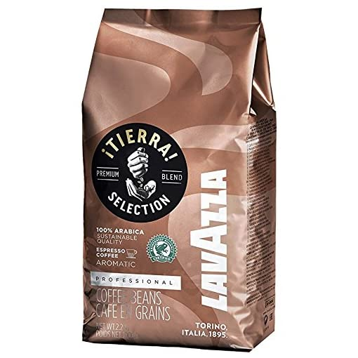 Lavazza Tierra Intenso Coffee Beans 1, 2, 3, 6 x 1kg 51HV35v6ktL