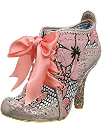 #Irregular Choice Abigail's Third Party Oro Floral Mejeres Botas