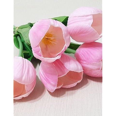 Anniversari e ringrazio doni/ 5 Tulip Fiori , golden+brown