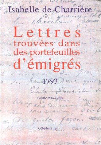 Lettres trouvées dans des portefeuilles d'immigrés