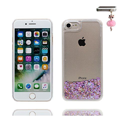 "Coque iPhone 6, [Bling Bling Glitter Fluide Liquide Sparkles Sables] iPhone 6s étui Cover (4.7 pouces), iPhone 6 Case (4.7""), anti- chocs & Bouchon anti-poussière- Make Up Palette Lipstick Perfume # 3"