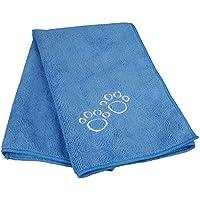 Trixie 2350 Top-Fix Handtuch für Hunde und Katzen, 50 x 60 cm