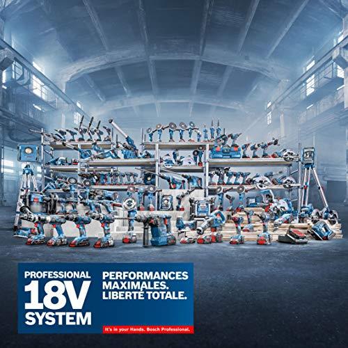 Bosch Professional 06019C6302 18V System Industriestaubsauger Gas 18V-10 L (ohne Akku, 1,6 m Schlauch, 3 Verlängerungsrohre, im Karton), 18 V, blau