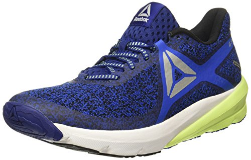 Reebok Men s OSR Grasse Road Blue Cobalt White Black Running Shoes - 9 UK  India (43 EU) (10 US) (BS8603) 19079b98a