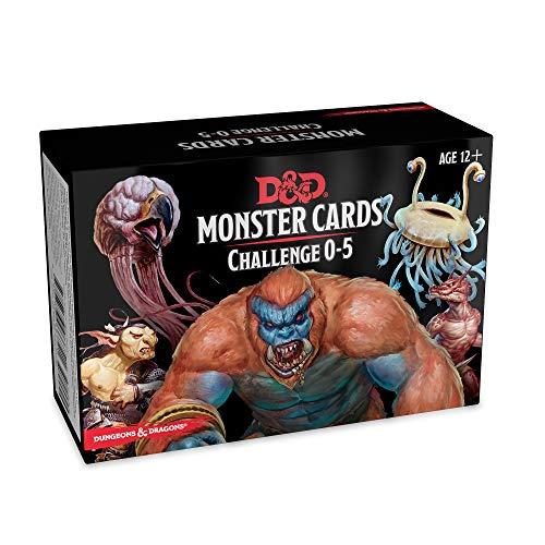 Preisvergleich Produktbild Dungeons & Dragons Spellbook Cards: Monsters 0-5 (D&d Accessory)