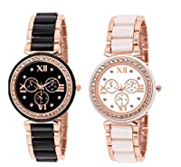 Rich Club Aspire ChronoGraph Analog Watch-For Women's And Girls(Set Of 2)
