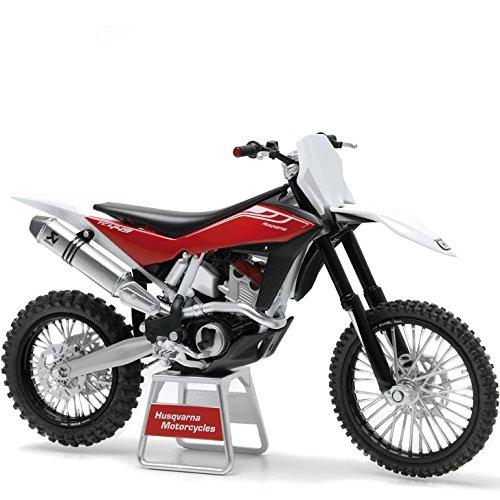 Husqvarna Motor Sports Miniatura Modelo Escala 1: 12TC 449