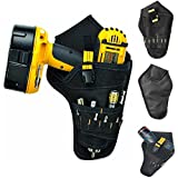 ASOSMOS Heavy-duty Drill Holster Tool Belt Pouch Bit Holder Hanging Waist Bag Drill Tool Storage Bags