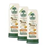 L'arbre vert Après-Shampooing Nutrition pour Cheveux Secs/Abîmés 250 ml - Lot de 3