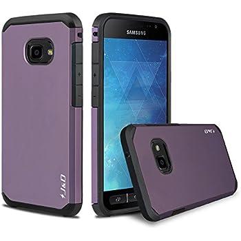 J&D Compatible pour Coque Galaxy Xcover 4, [ArmorBox] [Double Couche] Coque de Protection