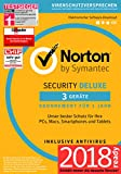 Norton Security Deluxe 2018 | 3 Geräte | 1 Jahr | Windows/Mac/Android/iOS | Download