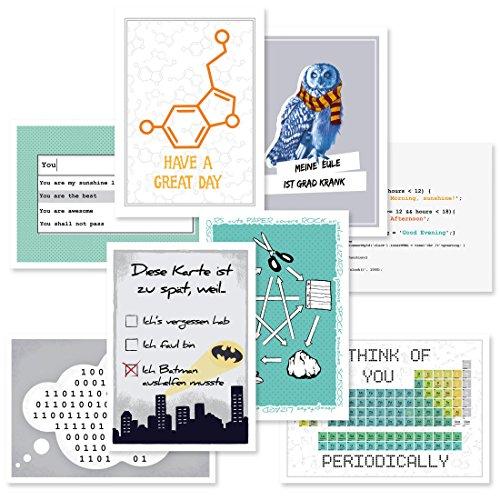 getDigital Nerd-Postkarten