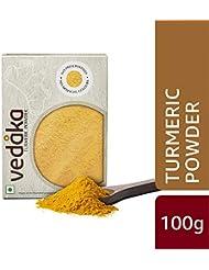 Amazon Brand - Vedaka Turmeric (Haldi) Powder, 100g