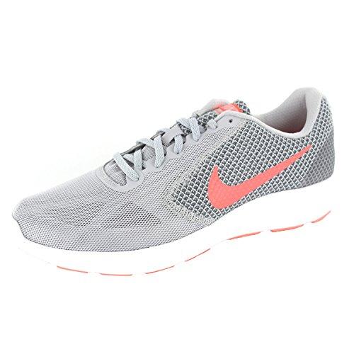 NikeNike Revolution 3, Damen Laufschuhe - Scarpe Running Donna Grigio