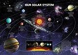 1art1 583 Weltkarten - Das Solar System Poster (92 x 64 cm)