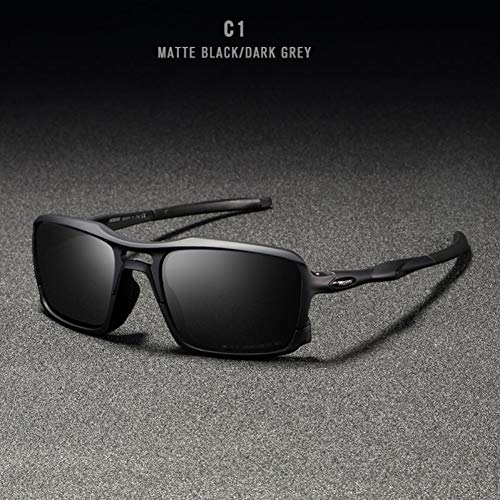 Taiyangcheng Platz Sonnenbrille Rahmen Männer Polarisierte Sport Eyewear Komfortable Silikon Rutschfeste Uv400,C1