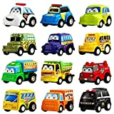 Express Super Power Mini Pull Back Need Car Set (12 Pcs Car Set) Toys & Games Play