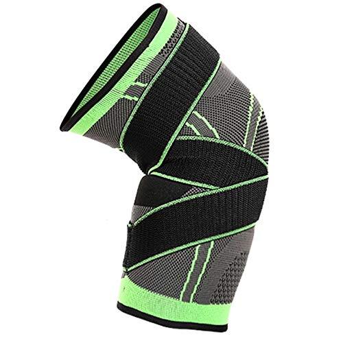 Peanutaso Kniebandage, Sport-Kniebandage, für Tennis, atmungsaktiv, um die Unterstützung des Knies zu erleichtern.