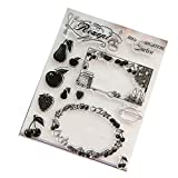 Clear Stamp Silicone Seal For DIY Scrapbook Diary Album Photo T1040 Fruit Decor