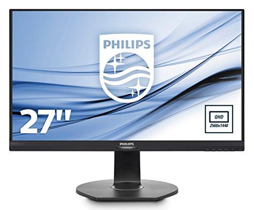 Philips 27-Inch Brilliance QHD LCD Monitor with 272B7QPJEB/00 PowerSensor
