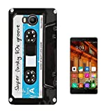 1206 - Old Vintage Cassette Tape Blue Design Elephone P9000