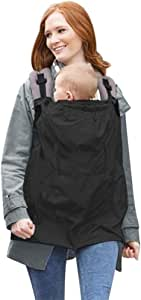 TININNA Multifonctionnel Housse de Protection Porte-B/éb/é Echarpe Baby Wrap Transporter Couverture Coupe-Vent avec Manteau /à Capuche