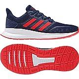 adidas Unisex-Kinder Runfalcon K Traillaufschuhe, Mehrfarbig (Azuosc/Rojact/Negbás 000),38 2/3 EU