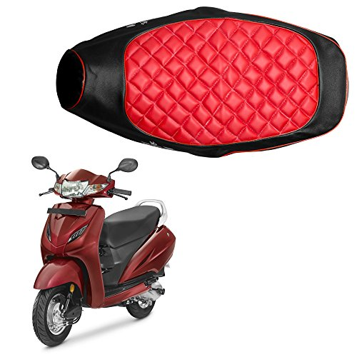 Autofy BACOVER0005 COVER0005 Seat Cover for Honda Activa 4G (Black...