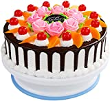 """CCINEE 11"""" White Cake Turntable Stand for Cake Decoration Baking Tools"""