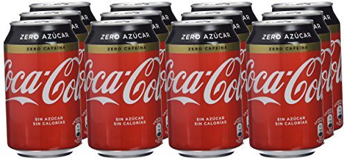 Coca-Cola Zero Zero, Lata 33 Cl (Pack de 12)