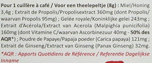 Energie Vital- Propolia - Miel- Propolis- Gelée Royale- Acérola- Papaye- Ginseng-...