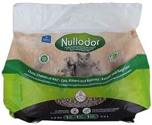 Nullodor LitiÚre en Miscanthus pour Chat/Chaton/Rongeur 2,5 kg