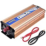 Inverter di Potenza,Lacyie 1000 2000W Power Inverter Auto Convertitore 12V a 220V,Invertitore di...