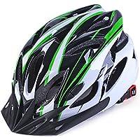 LanLan Casco de Bicicleta Unisex, Casco de Ciclismo Transpirable y Resistente de Adultos, Moldeado Integrado, tamaño 56-62cm