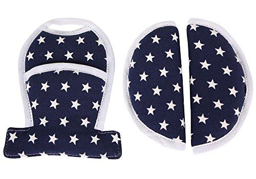Gurtschoner Maxi-Cosi Cabriofix, Citi (SPS), Pebble, Pebble Plus & Rock ♥ Blau Sterne