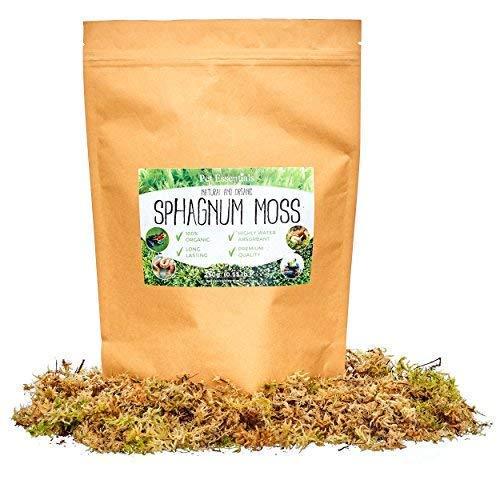 Sphagnum-Moos, 100% Bio 250g wiederverschließbaren, PET Essentials