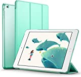 iPad Mini Case, iPad Mini 2 / Mini 3 Case, ESR® iPad Mini Smart Case Cover [Synthetic Leather] and Translucent Frosted Back Magnetic Cover with Sleep / Wake Function [Ultra Slim] [Light Weight] for Apple iPad Mini 1/2/3 (Mint Green)