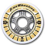 FreeWheeling 4 Stück Inliner Skate Rollen Race 90mm 1117386