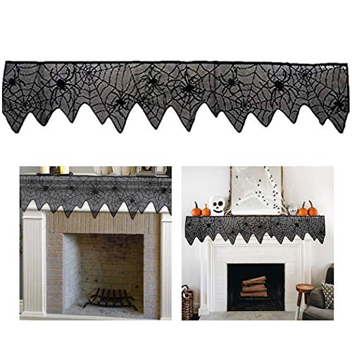 Halloween Kamin Dekoration Cobweb Kamin Schal Mantel Schal für Party