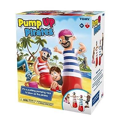 TOMY T72993 Pump Up Pirates Pete Action Jeu de société Multicolore